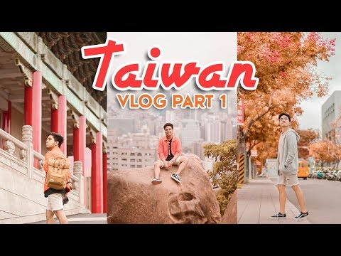 First Time in Taipei, Taiwan + TIPS! | #RedVlogs
