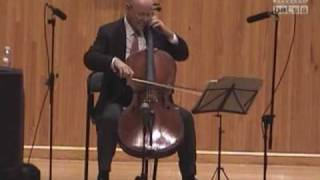 Suite No.3 en Do Mayor de J.S. Bach - Preludio - Carlos Prieto