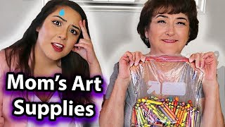 Download Using My Mom's Sad Art Supplies (sorry mom i still love u) Mp3 and Videos