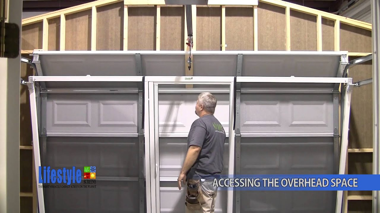 How To Access Overhead Spaces Lifestyle Screens Youtube