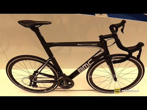 2017 BMC TimeMachine TMR01 Aero Seires Road Bike - Walkaround - 2016 Eurobike