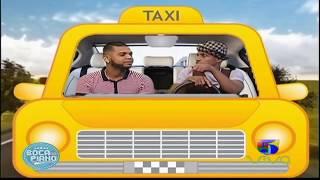 El Mayor Clásico Se Monta en El Taxi de Boca de Piano es un Show