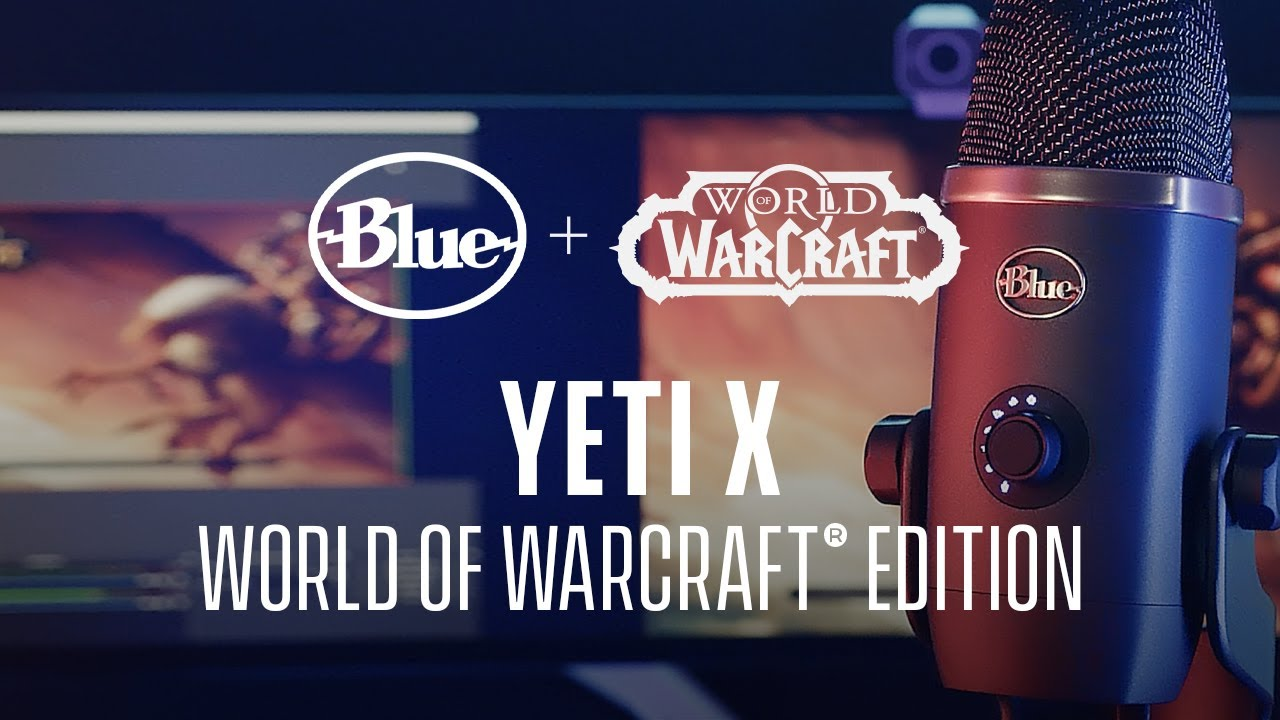 Blue Yeti X World of Warcraft Edition | Professional Streaming USB Mic with Blue VO!CE
