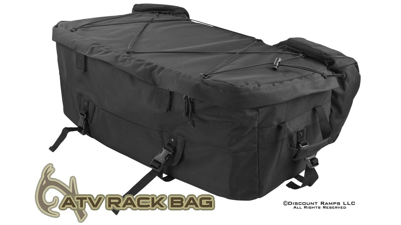 medium resolution of atv rack bag