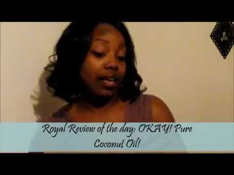 The Product Review Queen reviews OKAY! 100% Pure Coconut Oil Hair and Skin Care Product
