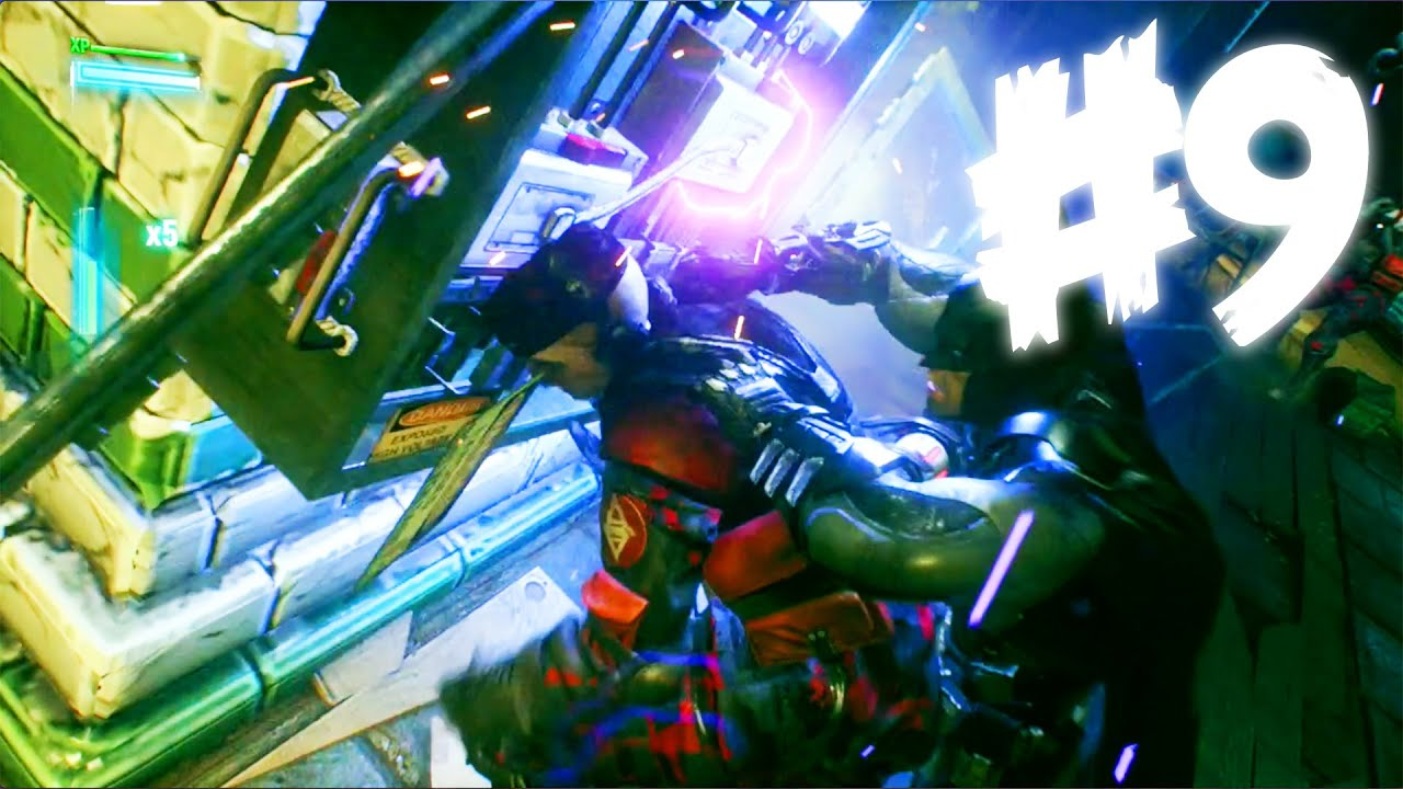 Fuse Box Explosion : Fuse box explosion batman arkham knight story youtube