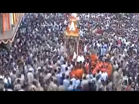 Watch Jagannath Rath Yatra in Ahmedabad, Lakhs of Devotees Participate
