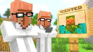 Zombie vs Villager Life 4 - Craftronix Minecraft Animation