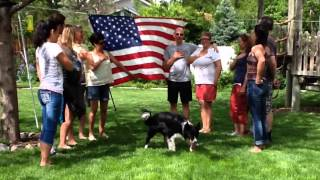 We Pledge Allegiance to the Flag of the United States of America!
