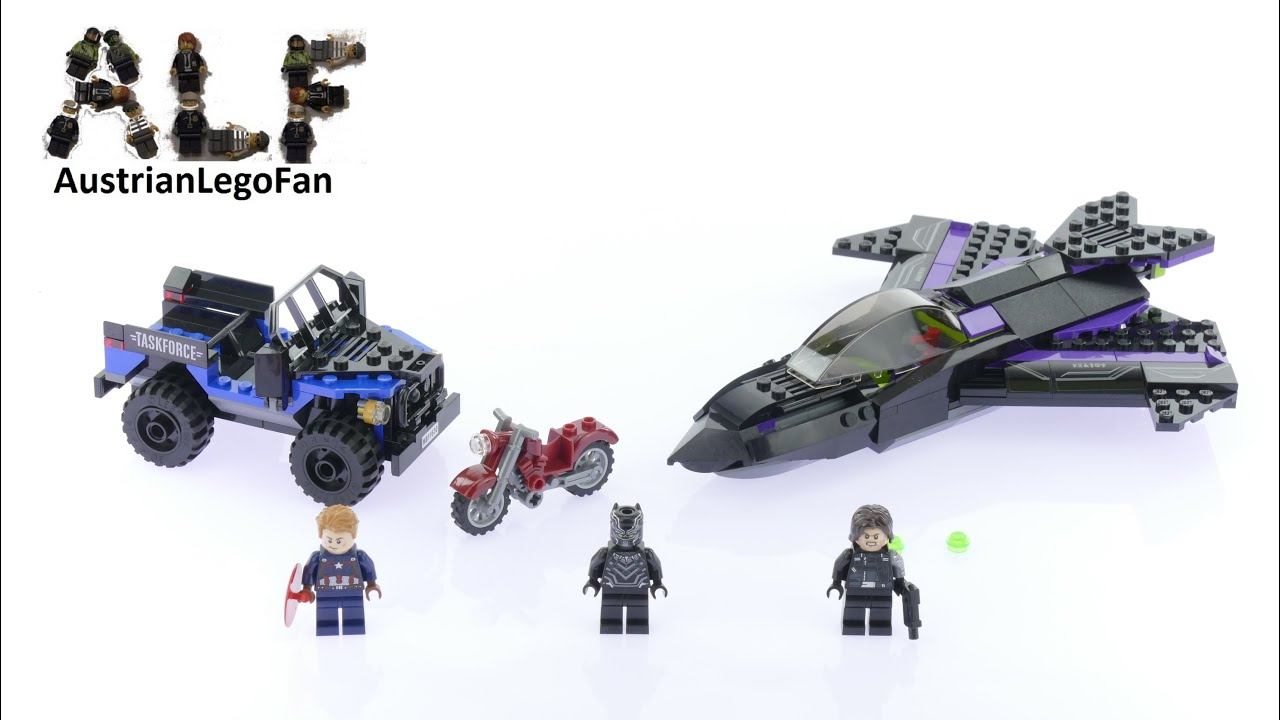 Lego Super Heroes 76047 Black Panther Pursuit - Lego Speed ...