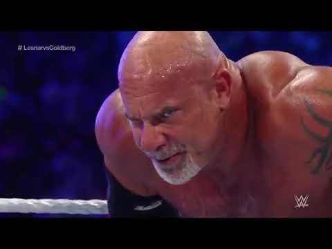 Download FULL MATCH - Goldberg vs. Brock Lesnar - Universal Championship Match