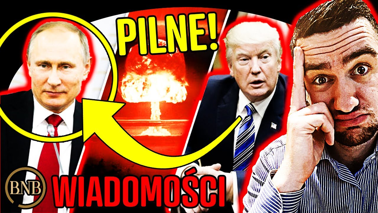 PILNE! Trump chce ZNISZCZYĆ Rosję! TEN ATAK może wpłynąć NA POLSKĘ | WIADOMOŚCI