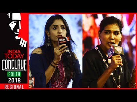 Deepa Easwar Vs Rehana Fathima On Sabarimala Issue At India Today #ConclaveSouth18