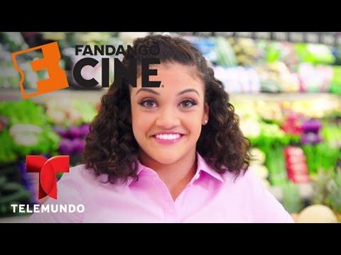 Laurie Hernandez recreates a Sing dance number | Fandango | Entretenimiento