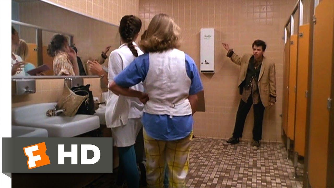 Pretty in pink 1 7 movie clip bathroom inspection for Bathroom scenes photos