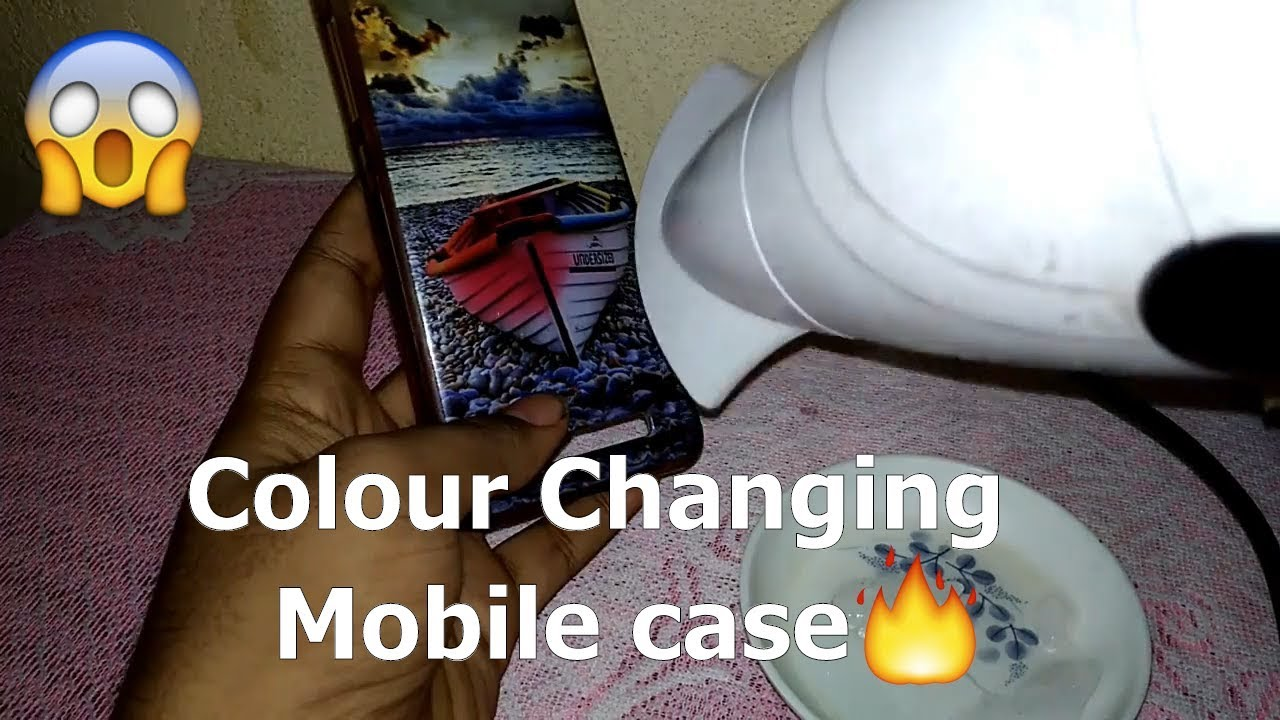 Horrible!!! Colour changing mobile case , Unbelievable