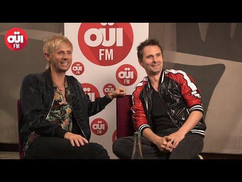 Matthew Bellamy et Dominic Howard en interview au micro de OUI FM