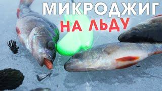 Ловля окуня на микроджиг со льда зимняя рыбалка в 2021 в Беларуси