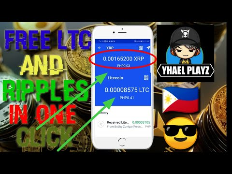 Free XRP/Ripples And LTC In A Click Of A Button (LEGIT 101%) Road To 600 Subscriber$