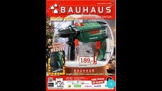 Bauhaus Yılbası Katalogu - 09 Aralık 5 Ocak Indirim Kataloğu