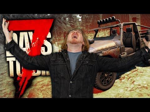 7 Days to Die - WE BUILD THE 4X4 - DAYS 19 & 20