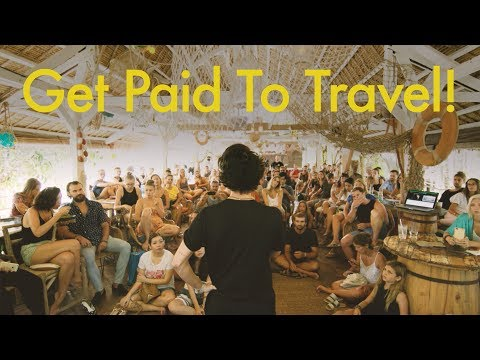 Bali Workshop - How to Get Paid to Travel the World