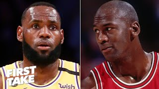 Did 'The Last Dance' put more pressure on LeBron? | First Take