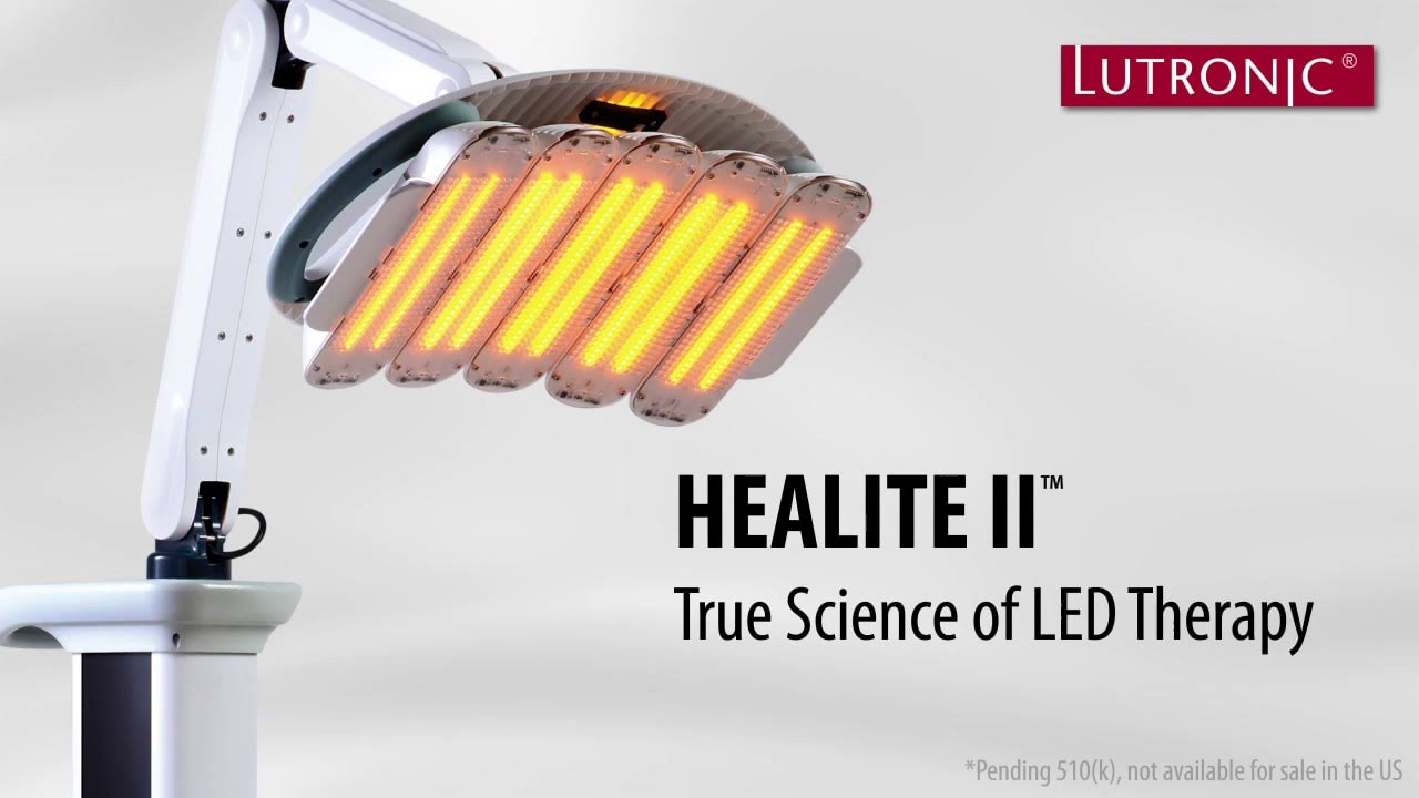 Healite Led Light Therapy From Lutronic Phototherapy Youtube