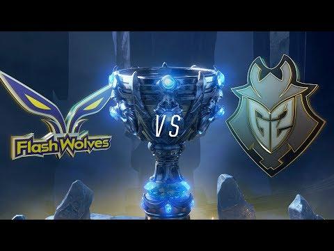 Mundial 2018: Flash Wolves X G2 Esports (Jogo 3 - Desempate) | Fase De Grupos - Dia 6