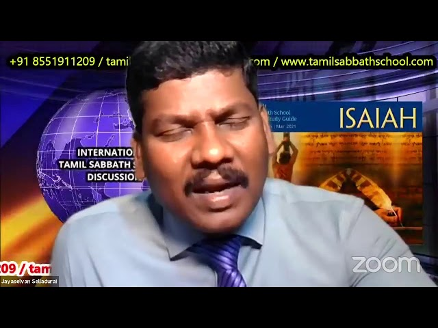 26Feb 2021–Qtr.1:ISAIAH-LS-5:Tamil Sabbath School–சேவை செய்யவும் இரட்சிப்பு தரவும்– Revision