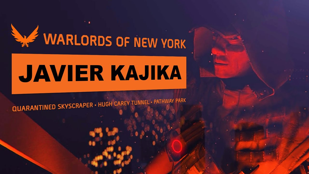 The Division 2: Warlords of New York | Javier Kajika (Battery Park Gameplay)