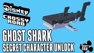 Disney Crossy Road Secret Characters - Ghost Shark - Pirates Of The Caribbean Dead Men Tell No Tales