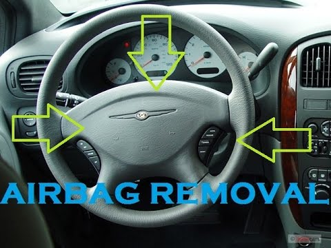 How To Remove Airbag From Chrysler And Caravan Youtube