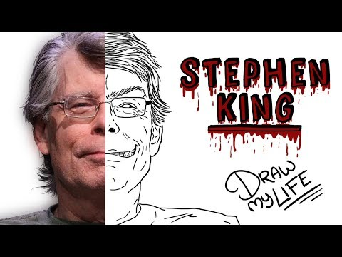 STEPHEN KING | Draw My Life 🎃 Especial Halloween TikTak Draw