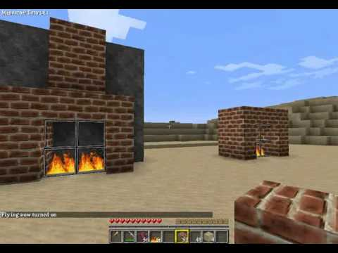 Minecraft Tutorial Kamin Bauen Youtube