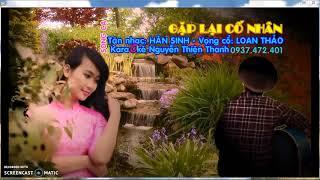 Karaoke tân cổ gặp lại cố nhân DonhatTuan ca thiếu đào