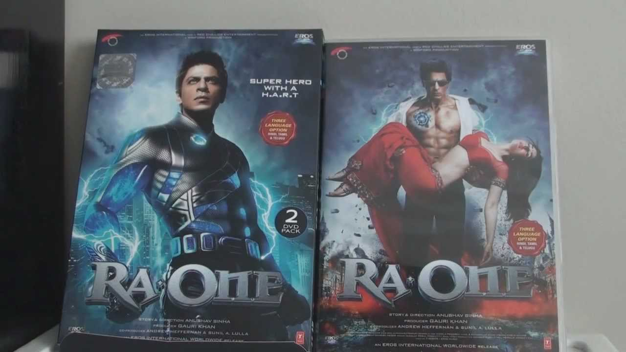Ra One DVD Review, Unboxing, and Thoughts
