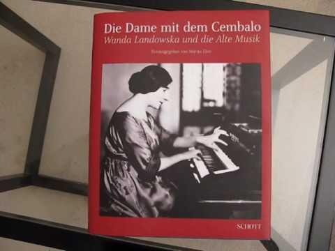 J S Bach, Italian Concerto BWV 971, 3rd movement (Presto) - Wanda Landowska (Pleyel harpsichord)