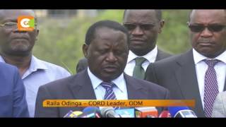 Uhuru not genuine on Petroleum Bill - Raila