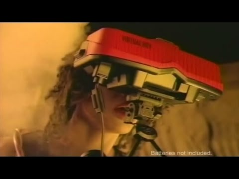 (1995) Nintendo Virtual Boy Commercial