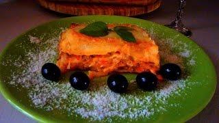 ЛАЗАНЬЯ(Lasagna)с мясом-РЕЦЕПТ