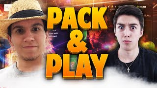 PACK AND PLAY VS LostNUnbound Part 1! NBA 2K15 MyTEAM CRAZY PULL!