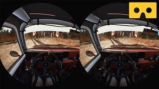 DiRT Rally [PS VR] - VR SBS 3D Video