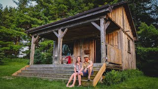 Off-grid Cabin Tour In Canada | Tiny House Living Less Than 1 Hour From Toronto, Ontario!