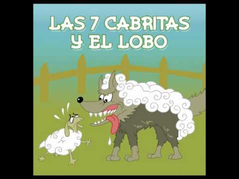 Cuentos Infantiles  Las 7 Cabritas Y El Lobo  YouTube