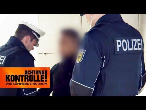 Drogenszene Frankfurt Hbf: Schnappt die Polizei einen Dealer?   Achtung Kontrolle