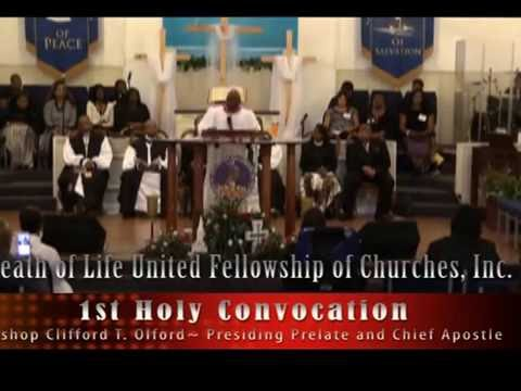 Breath of Life United Fellowship of Churches, Inc. 1st Holy Convocation