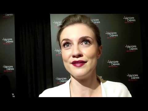 Sara Canning Celebrates 100 Episodes of THE VAMPIRE DIARIES