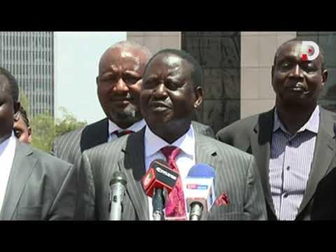 Elections can be won or lost! What's the big deal?- Raila Odinga