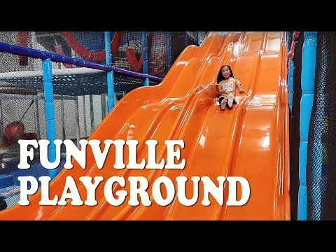 Playtime at FunVille Playground and Cafe
